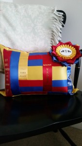ribbon pillow